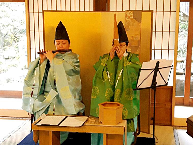 鳳笙と龍笛